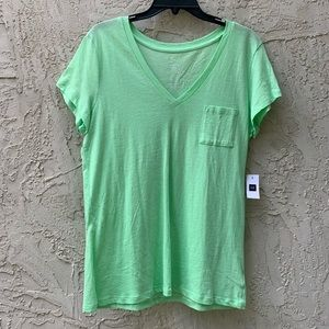 NWT Light Green T-Shirt from The Gap